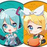 Can Badge [Piapro Characters] 02 Box (Photo Chara) (Set of 6) (Anime Toy)