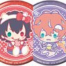 Hypnosis Mic Sanrio Nakayoku Edit Trading Can Badge (Set of 12) (Anime Toy)
