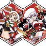 Acrylic Key Ring [Senki Zessho Symphogear XD Unlimited] 01 Christmas Ver, Box (Set of 9) (Anime Toy)