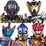 SHODO-O Kamen Rider 6 (Set of 10) (Shokugan)